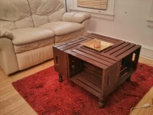 20 diy wooden crate coffee tables guide patterns for Wood table instructions