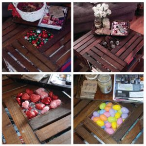 DIY Crate Coffee Table Picture