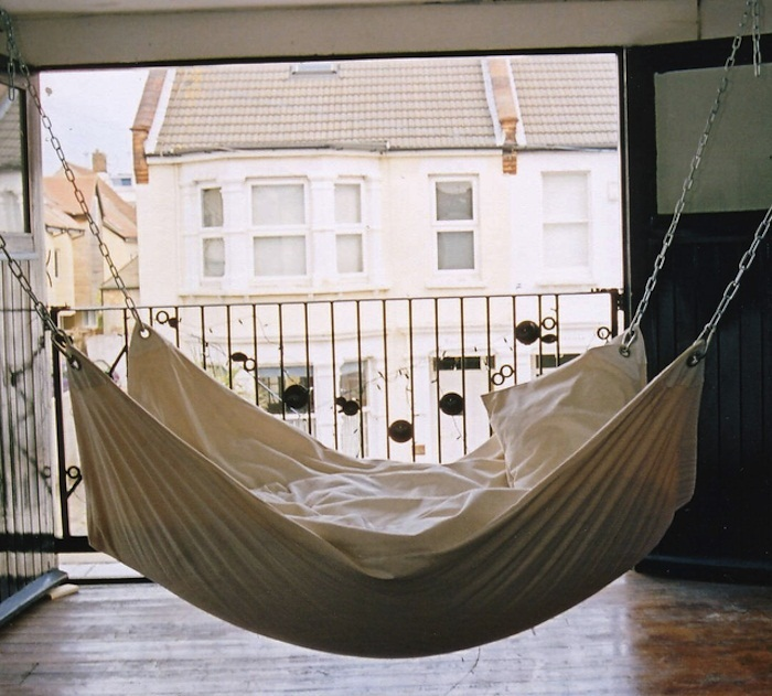 15 cool diy hammock ideas guide patterns - Indoor hammock hanging ideas ...