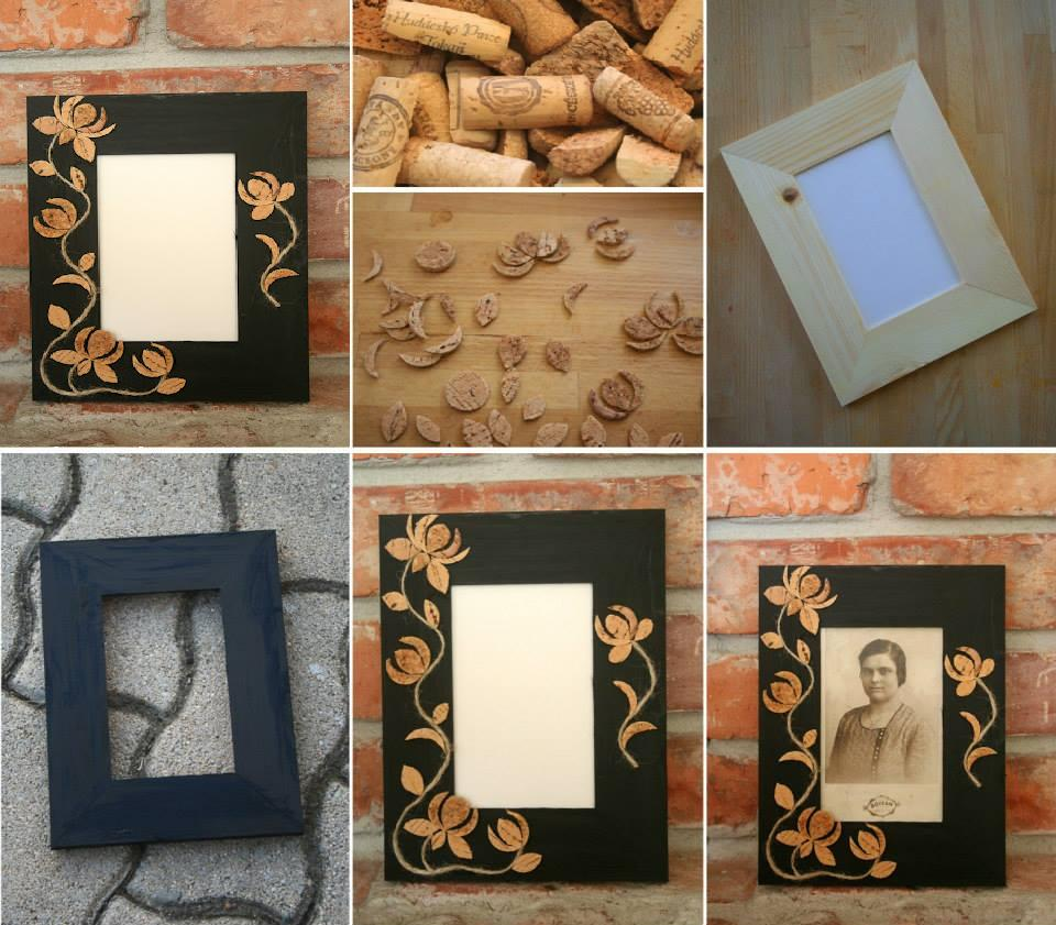Cute Craft Ideas For Picture Frames