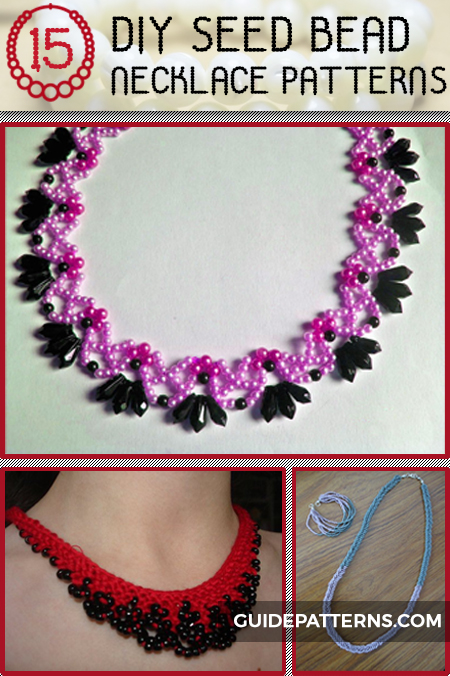 DIY Seed Bead Necklace Patterns