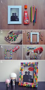 Easy Picture Frame DIY