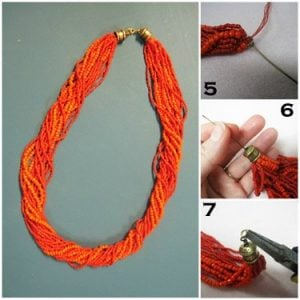 How to Make a Seed Bead Necklace