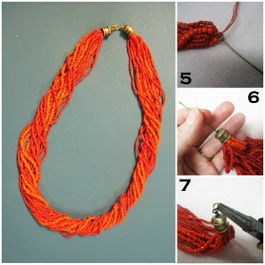 15 DIY Seed Bead Necklace Patterns