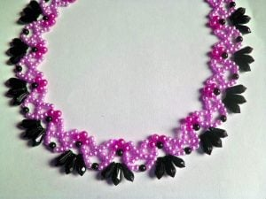 Seed Bead Necklace Design