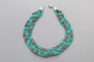 Woven Seed Bead Necklace