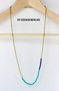Single Strand Seed Bead Necklace