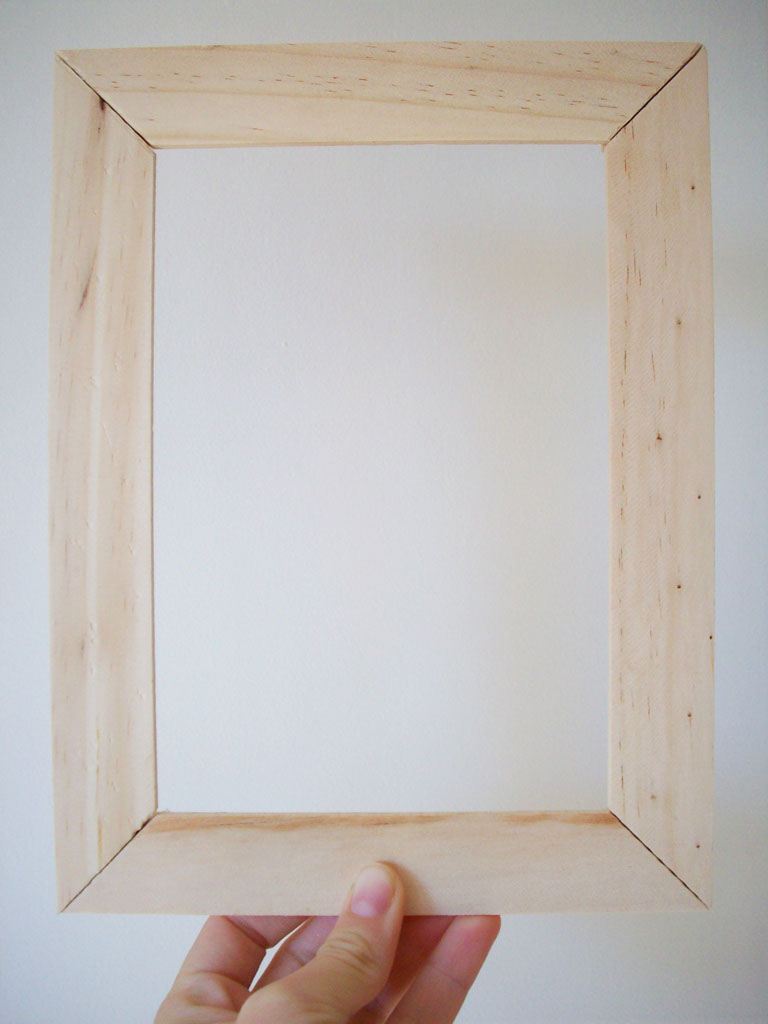 wood picture frame diy - Wooden Picture Frames To Paint