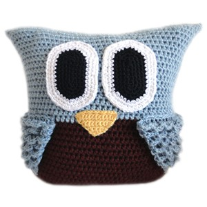 Free Crochet Owl Cushion Pillow Pattern : 27 Easy Crochet Pillow Patterns Guide Patterns