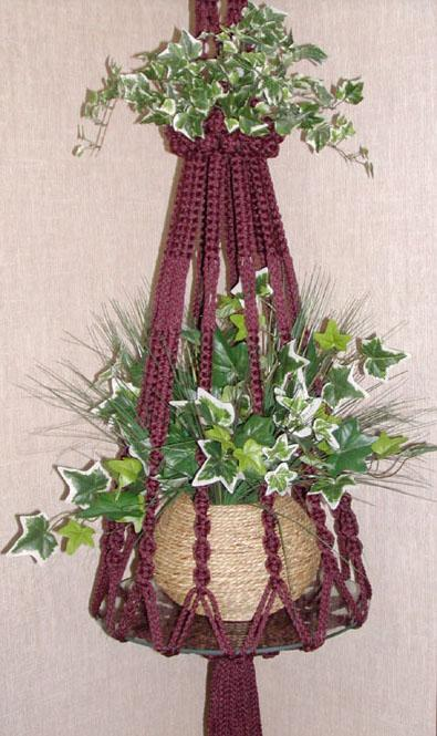 Simple Macrame Plant Hanger How To Make