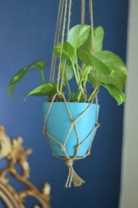 Free Macramé Plant Hanger Patterns