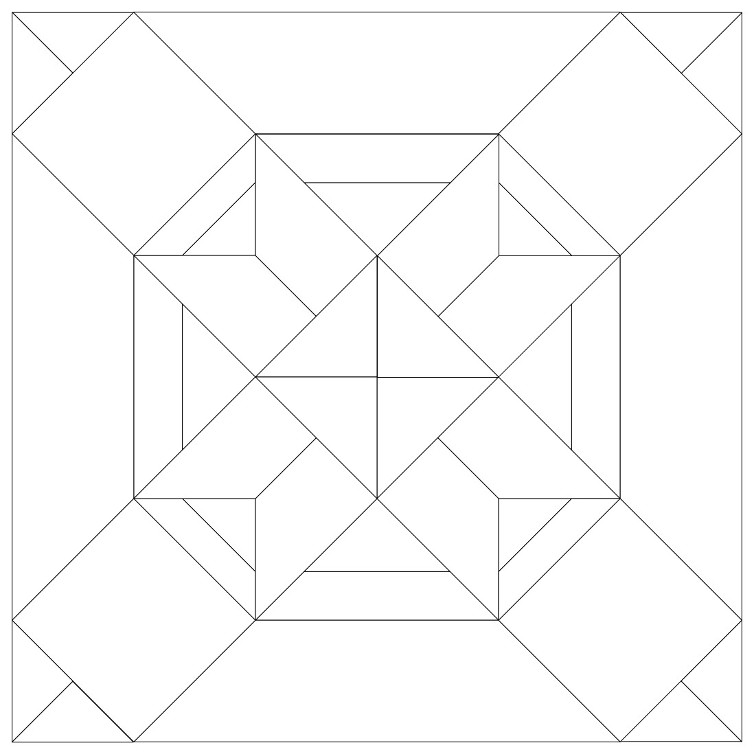 free quilt block pattern paper piecing