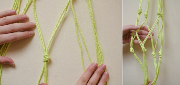 photograph regarding Free Printable Macrame Plant Hanger Patterns named 18 Do-it-yourself Macramé Plant Hanger Habits Direct Behaviors