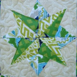 Paper Pieced Star Pattern