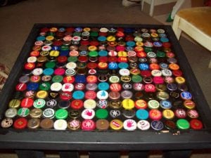 Beer Cap Table Design