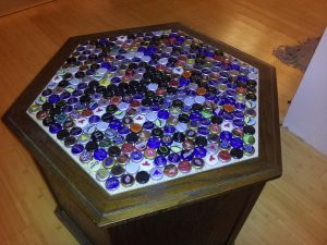 Beer Cap Table Top