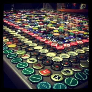 Beer Cap Tables Pictures