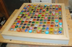 Bottle Cap Table DIY
