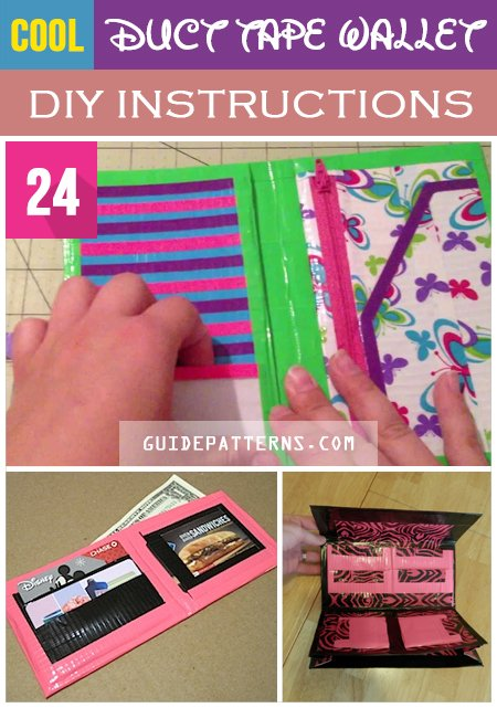 photograph about Duct Tape Wallet Instructions Printable identify 24 Great Duct Tape Wallet Do it yourself Recommendations Advisor Types