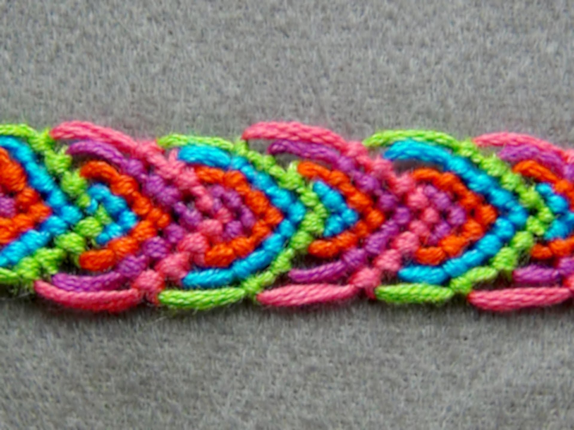Crochet Thread Bracelet Pattern Bangle and Bracelets