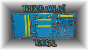 Duct Tape Wallet Trifold