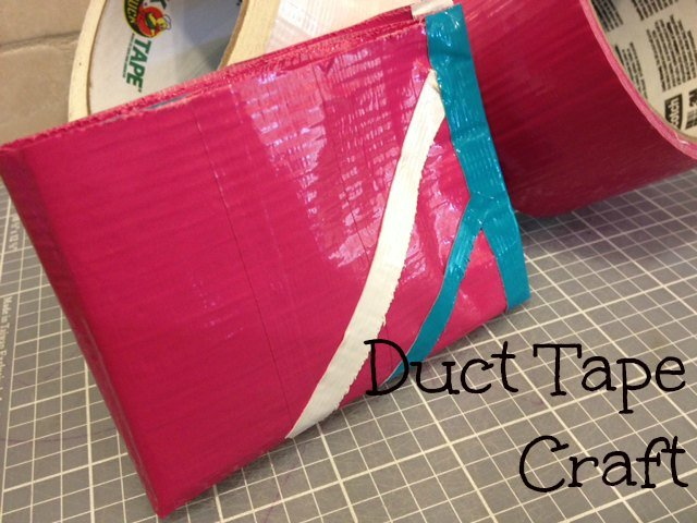 instructions on how to make a duct tape wallet