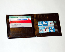 Duct Tape Wallet with ID Holder