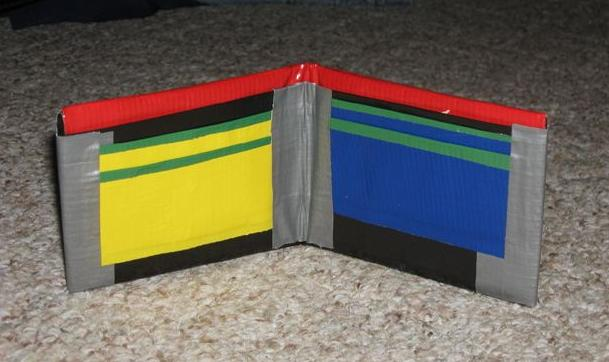 24 Cool Duct Tape Wallet Diy Instructions Guide Patterns