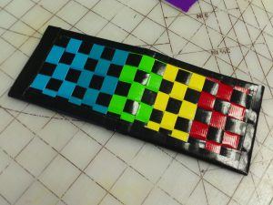 Duct Tape Woven Wallet