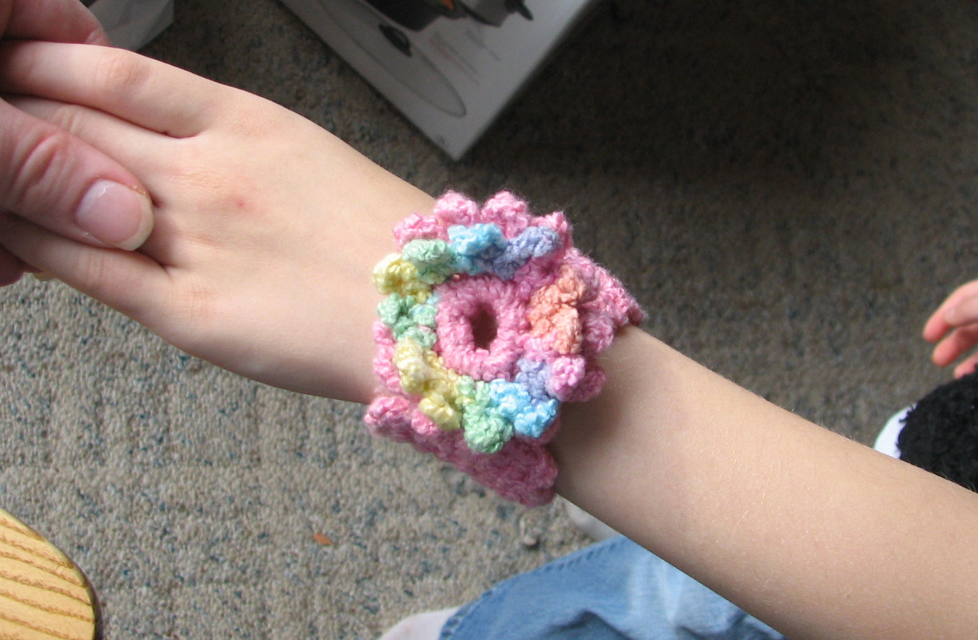 Easy Crochet Bracelet Pattern