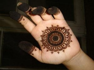 Henna Design for Kids to Draw