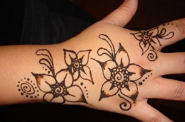 Mehndi Designs For Kids S : Simple mehndi designs for kids guide patterns