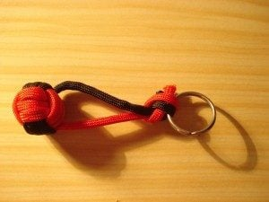 Paracord Monkey Fist Keychain Picture