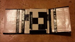 Tri Fold Duct Tape Wallet