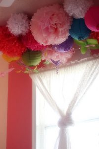 Baby Shower Tissue Paper Pom Poms