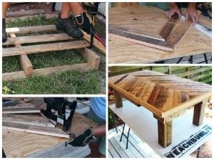 Coffee Table Pallets