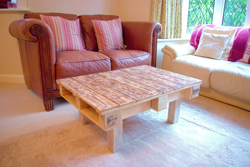White Pallet Coffee Table 18 diy pallet coffee tables | guide patterns