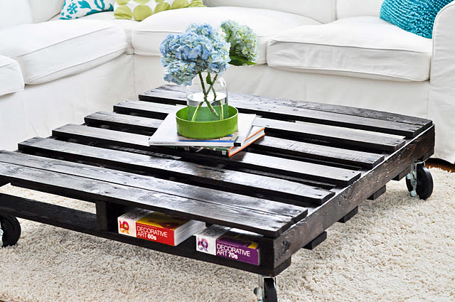 Coffee Table from Pallets Idea