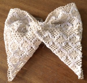 Crochet Lace Bow