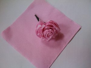 DIY Tissue Paper Rose