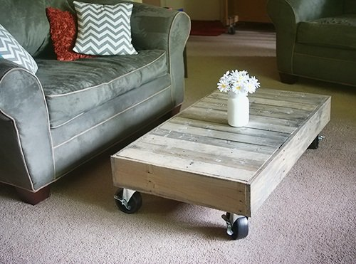 pallet furniture coffee table with diy wood pallet coffee table 18 tables guide patterns