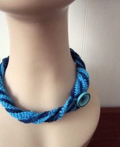 Free Crochet Necklace Pattern