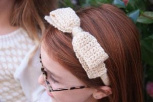 How to Crochet a Bow Headband