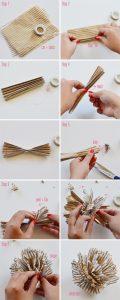 How to Make Tissue Paper Pom Poms Pictures