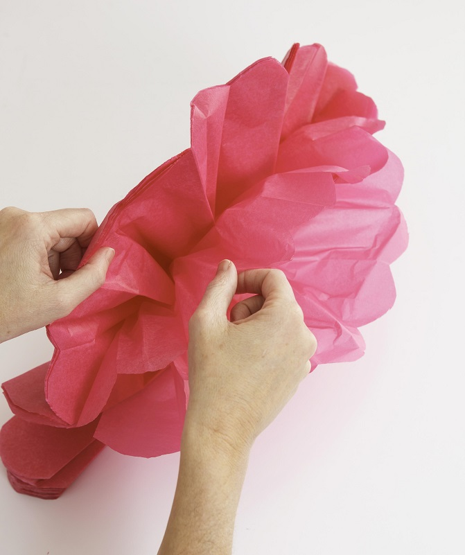 35 tissue paper pom poms guide patterns how to make tissue paper pom poms mightylinksfo