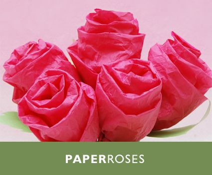 13 Diy Tissue Paper Roses Guide Patterns