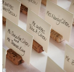 How to Make Wine Cork Place Card Holders