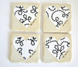 Mod Podge Tile Coasters