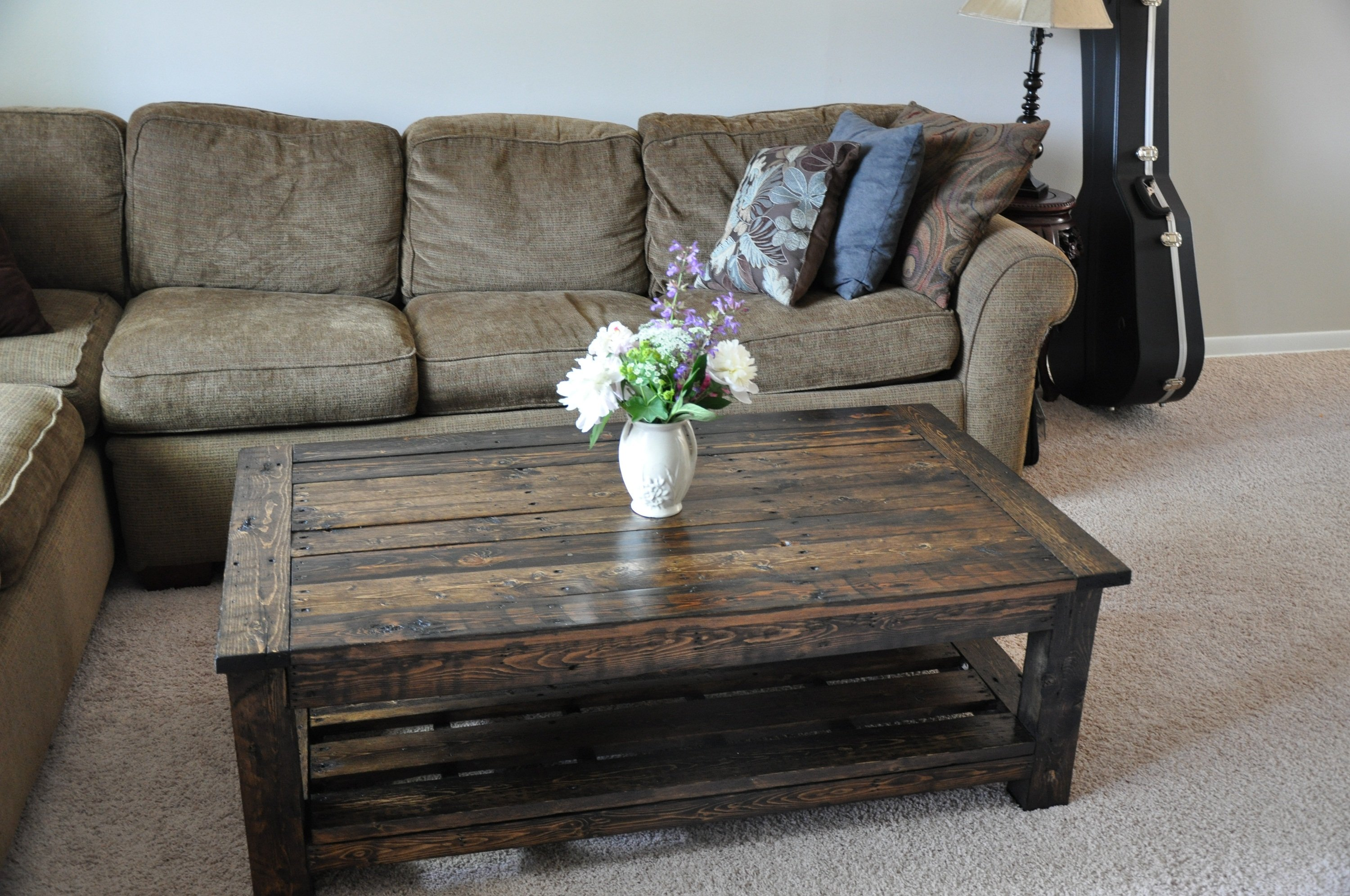Furniture Made From Pallets Plans the best 20 diy pallet coffee table projects for your living room