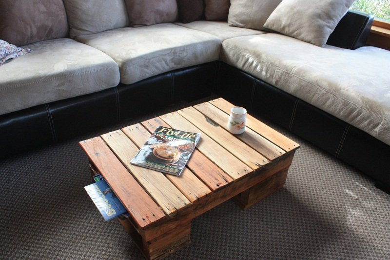 18 diy pallet coffee tables guide patterns for Table design using php
